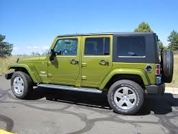 jeep unlimited green review the 2010 jeep wrangler sahara is a blast and buzzkill