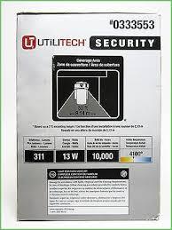 utilitech pro led security light lighting utilitech 13w white flouresent dusk to dawn wall mounted