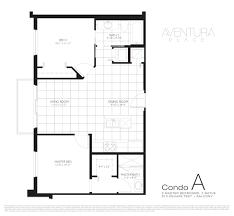 floor plans aventura place
