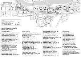 Boston University Map Bu Campus Map Map Of Columbia Mo