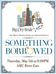 Emily Giffin Something Blue Exclusive Tickets Something Borrowed Chicago Rsvp