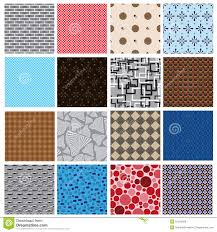 16 simple retro color seamless patterns stock vector image 51278459