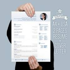 Sample Cover Letter For Resume by Resume Template Cover Letter 2 Page Cv A4 U0026 By Topresumetemplates