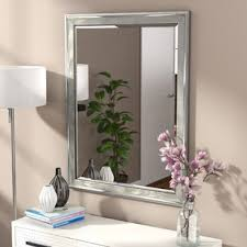 White Framed Mirror For Bathroom Bathroom Mirrors Birch