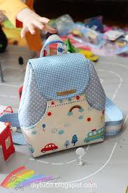 kindergarten backpack pattern tutorial how to make a small children backpack diy tutorials