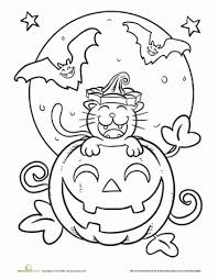 first grade halloween coloring sheets images coloring first grade