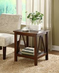 amazon com linon home decor titian antique end table kitchen