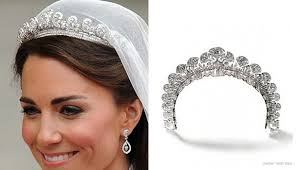 kate middleton wedding tiara kate middleton wedding jewelry jewelinfo4u gemstones and