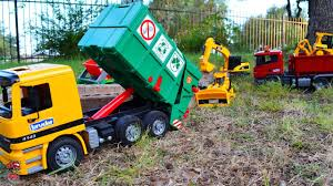 garbage truck videos for children l construction and garbage truck