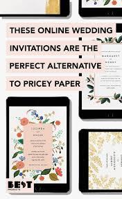 best online wedding invitations the 4 best websites to get online wedding invitations