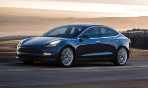 tesla outside tesla model 3 reviews are exuberant