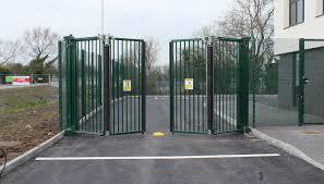 bi folding gates gallery proctor auto gates gallery
