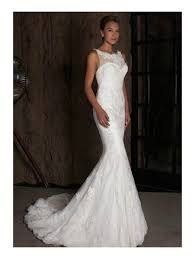 wedding dress mermaid intuzuri bridal bongardia ivory lace mermaid style wedding dress