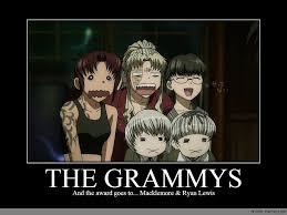 Macklemore Meme - the grammys anime meme com