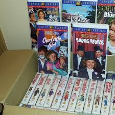 best vhs collection set of shirley temple movies for sale in