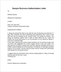 sample letter of authorization 9 free documents in pdf word