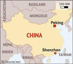 Shenzhen China Map Lehrreiches Abenteuer 3 Monate Praktikum Bei Testo In China