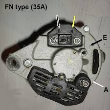 tech wiki alternator wiring datsun 1200 club