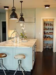 Coastal Themed Kitchen Kitchen Style Pastel Blue White Theme Coastal Kitchen Design