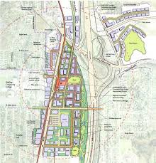 Seattle Sounder Train Map by Kent Midway Tod Rezone