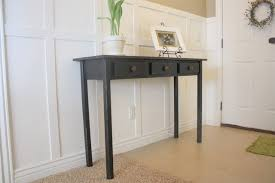 entryway table with storage amazing diy projects for your entryway