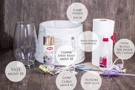 Mercury Glass Vases Diy Diy Copper Mercury Glass Lamp Diy Projects Craft Ideas U0026 How To U0027s