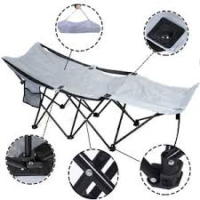 Folding Camp Bed Portable Folding Camping Adventure Camp Bed Durable Hammock
