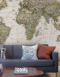 wall world map mural home design ideas old world map wall mural in by vinyl impression part