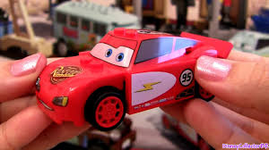 lego cars lego cars 2 radiator springs lightning mcqueen 8200 toy review how