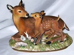 home interiors deer picture home interior homco fawn doe deer masterpiece collection