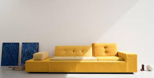 Yellow Leather Sofa Cheap Leather Sofa Maintenance Skill Introduction And Advice For