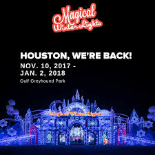 magical winter lights lone star park houston s magical winter lights returns november 10th magical