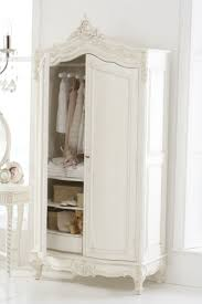 White Armoire Wardrobe Bedroom Furniture by Best 25 Shabby Chic Wardrobe Ideas On Pinterest French Bedroom