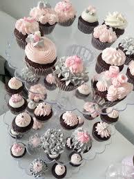 pink and grey baby shower baby shower mini dozen candicake