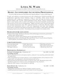 Accounting Job Resume Objective Classy Resume Objective For Account Manager Position For Your