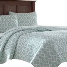 Tommy Bahama Comforter Set King Catalina Trellis 3 Piece Reversible Quilt Set By Tommy Bahama
