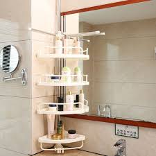 Telescopic Bathroom Shelves Aliexpress Buy 4 Tier Adjustable Telescopic Bathroom Corner