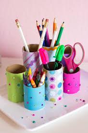 diy designs kids craft week diy desk organizer design improvised intended for
