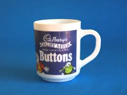 acropal cadbury u0027s milk chocolate buttons mug or coffee cup