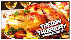theory thursday thanksgiving why do we eat turkey