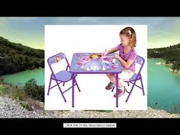 Sofia The First Chair Disney Sofia The First Activity Table Set Youtube