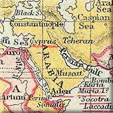 map middle east uk the middle east and the empire