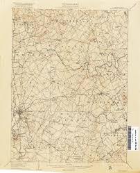 Gettysburg Pennsylvania Map by