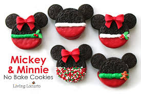 mickey u0026 minnie mouse christmas cookies bake disney treats