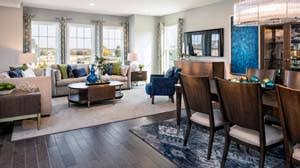 Rachael Ray Furniture Featured In Pulte Model Homes Home - Furniture model homes