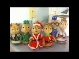 Alvin And The Chipmunks Christmas Ornament - alvin and the chipmunks and chipettes christmas medley with photos