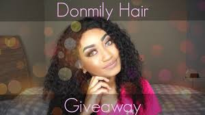 Hair Extensions Giveaway by Donmily Hair Giveaway Ends In 5 Days U2014 Peace Love Chic