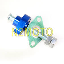 motorcycle blue manual cam timing chain tensioner for yamaha ttr