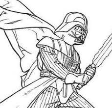 darth vader laser sword coloring free coloring pages