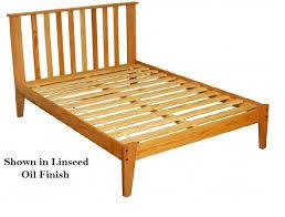 Oak Platform Bed Oak Mission Platform Bed A Timeless Classic